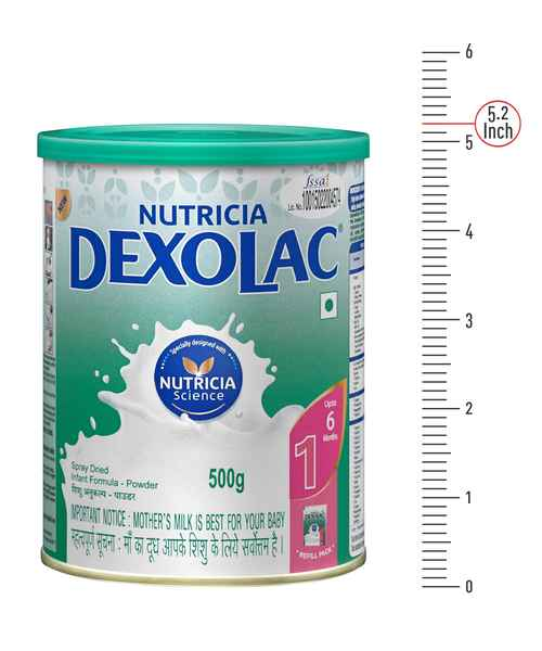 DEXOLAC 1 TIN 500GM POWDER ( DEXOLAC )