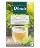 DILMAH GREEN TEA MOROCCAN MINT 25S TEA BAGS
