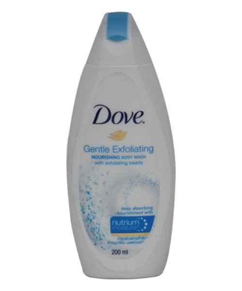 DOVE GENTLE EXFOLIATING BODYWASH 200ML