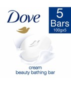 DOVE SOAP BUY 4 GET 1 FREE 100GM