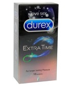 DUREX EXTRA TIME 10S CONDOMS