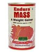 ENDURA MASS VANILLA POWDER 500GM