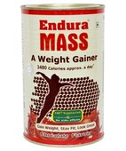 ENDURA MASS CHOCOLATE POWDER 500GM