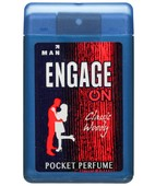ENGAGE ON MEN'S CLASSIC WOODY POCKET PERFUME 18ML