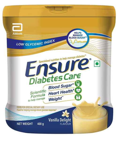 ENSURE DIABETIC VANILLA 400GM BIJ