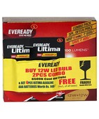 EVEREADY LED 12 W+12 W COMBI