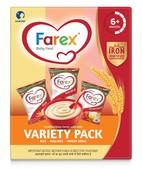 Farex Variety Pack 300Gm Reffil