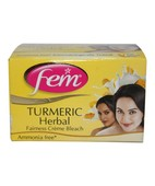 FEM TURMERIC HERBAL CREME BLEACH 24GM