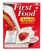 FIRST FOOD WHEAT APPLE STAGE 1 REFILL PACK POWDER 400GM