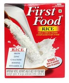 FIRST FOOD RICE STAGE 1 POWDER 400GM