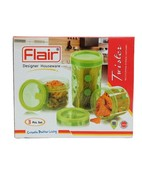 FLAIR TWISTER CONTAINER 3PCS SET