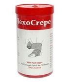 FLEXOCREPE COTTON CREPE BANDAGE 10CMX4M