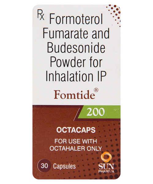 FOMTIDE 200MG 30S OCTA CAP