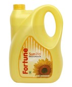 FORTUNE SUNLITE REFINED SUNFLOWER OIL JAR 5LTR