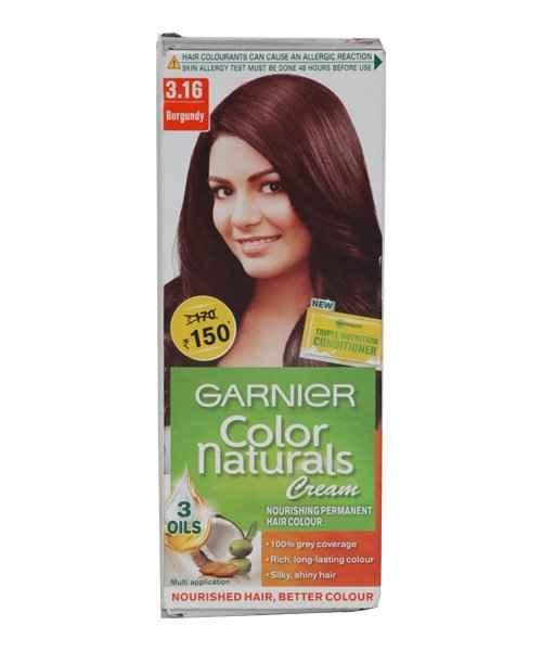 Garnier Colour Naturals 3 16 Burgundy Garnier Buy Garnier