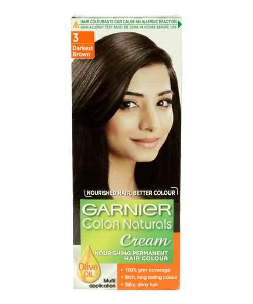 Garnier Colour Naturals 3 Darkest Brown Garnier Buy Garnier