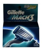 GILLETTE MACH3 CARTRIDGE 2S