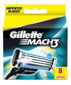 GILLETTE MACH3 CARTRIDGES 8S + 2S CARTRIDGES FREE