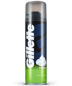 GILLETTE LEMON LIME FOAM 196GM