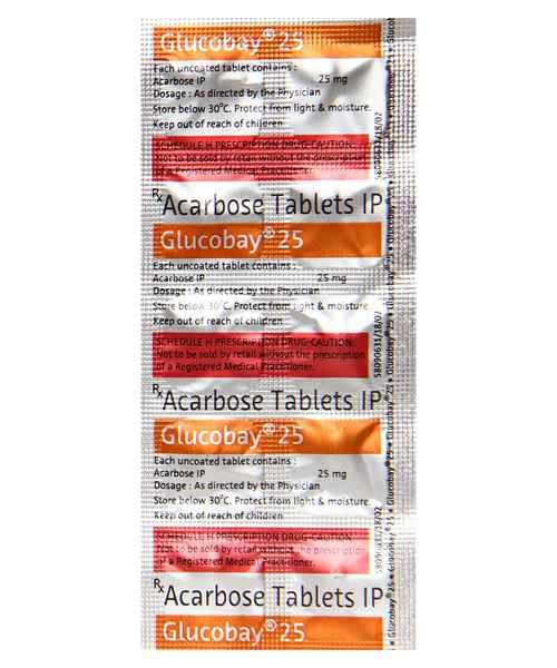 Harga glucobay 25 mg