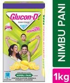 GLUCON D LIME 1KG REFILL POWDER