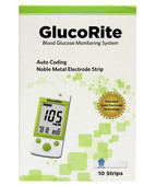 GLUCORITE BLOOD GLUCOSE MONITORING SYSTEM GM-260