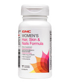 GNC WOMENS HAIR SKIN AND NAIL 60S TABLET