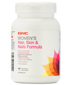 GNC WOMENS HAIR SKIN AND NAIL 120S TABLET