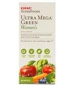 GNC ULTRA MEGA GREEN WOMENS MULTIVITAMIN 60S TABLET