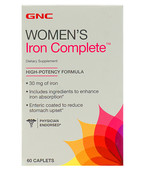 GNC WOMENS IRON COMPLETE 60S