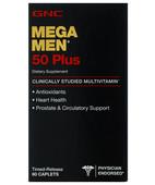 GNC MEGA MEN 50 PLUS 60S CAPSULE