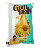 GOLD DROP SUN FLOWER OIL 1LTR