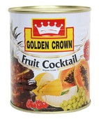 GOLDEN CROWN FRUIT COCKTAIL TIN 850GM