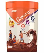 GROVIVA CHOCOLATE JAR 400GM POWDER