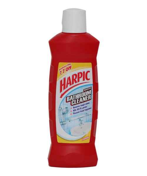 Buy HARPIC BATHROOM CLEANER LEMON 500ML Online