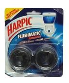 HARPIC FLUSHMATIC AQUAMARINE 2X50GM