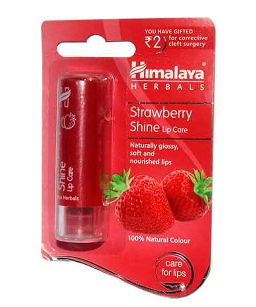 HIMALAYA STRAWBERRY SHINE LIP CARE 4.5GM