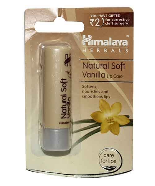 HIMALAYA NATURAL SOFT VANILLA LIP CARE 4.5GM
