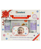 HIMALAYA BABYCARE GIFT PACK NOURISHING BABY OIL MOISTURIZING BABY SOAP BODY LOTION