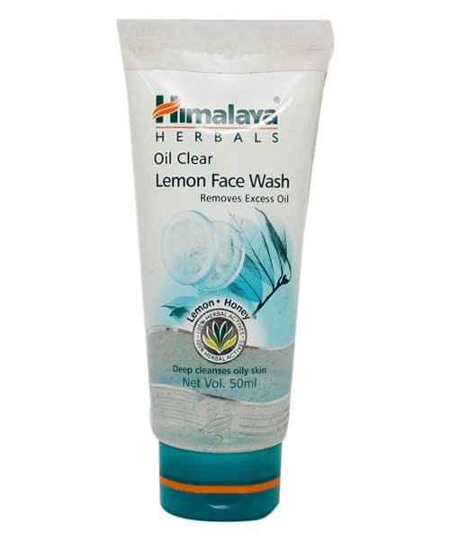 HIMALAYA OIL CLEAR LEMON FACE WASH 50ML