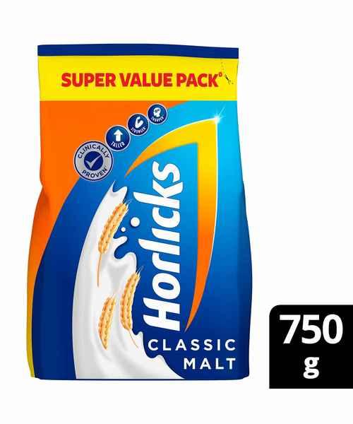 HORLICKS CLASSIC MALT 750GM REFILL