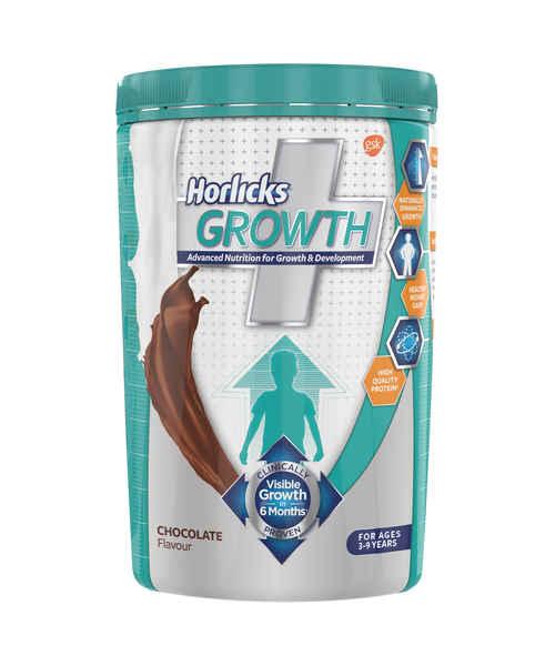 HORLICKS GROWTH PLUS CHOCOLATE JAR 400GM