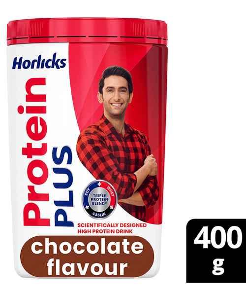 HORLICKS PROTEIN PLUS 400GM CHOCOLATE JAR