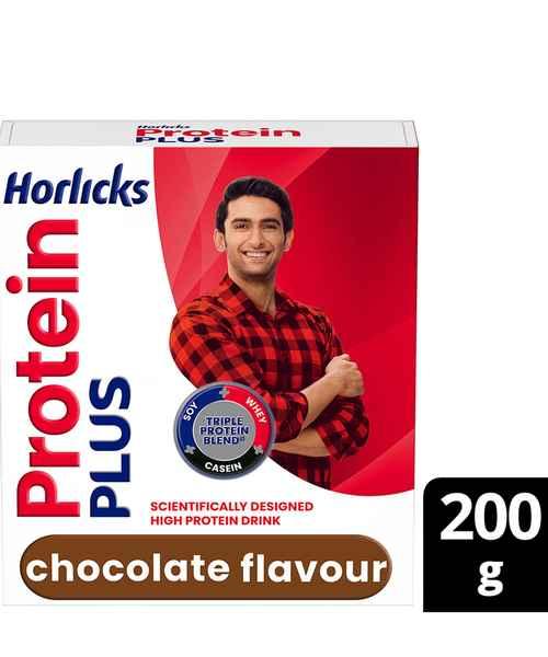 HORLICKS PROTEIN PLUS 200GM CHOCOLATE REFILL