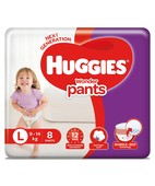 HUGGIES WONDER PANTS LARGE 8S