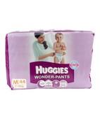 HUGGIES WONDER PANTS DIAPERS M 44S