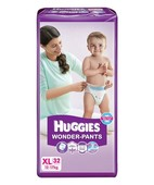 HUGGIES WONDER PANTS DIAPERS XL 32S