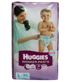 HUGGIES WONDER PANTS L 32S