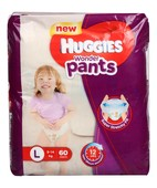 Huggies Wonder Pants L 60 S