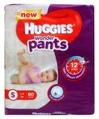 HUGGIES WONDER PANTS S 60S